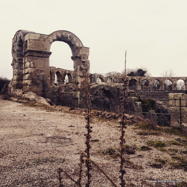 Ferento, abandoned lazio, italy, ghost town, viterbo