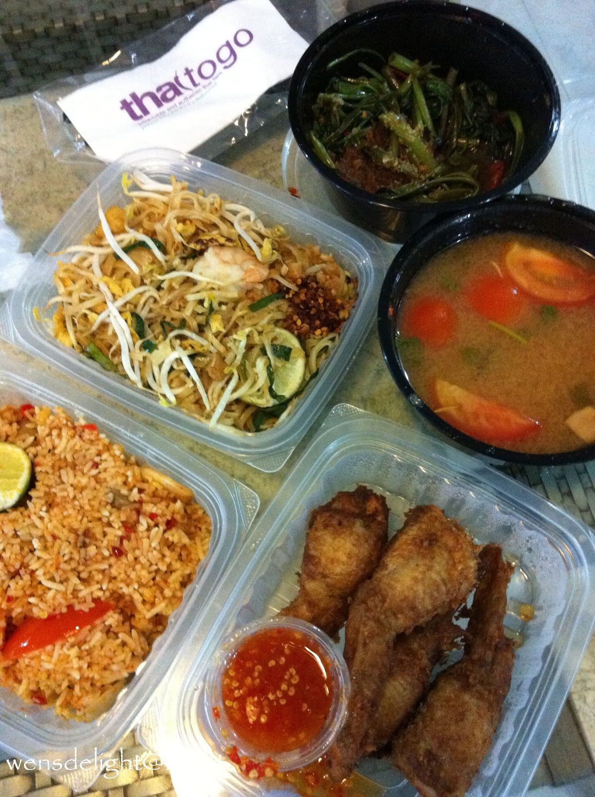 Wen's Delight: Thai To Go