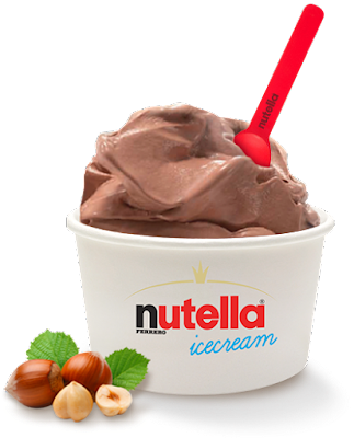 nutella icecream, il gusto dell'estate 2015