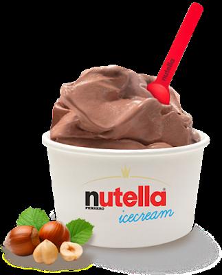 nutella icecream, il gusto dell'estate 2015