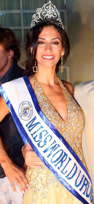 Miss World Mundo Uruguay 2013 Mercedes Bissio