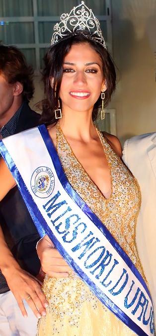 Miss World Mundo Uruguay 2013 Mercedes Bissio