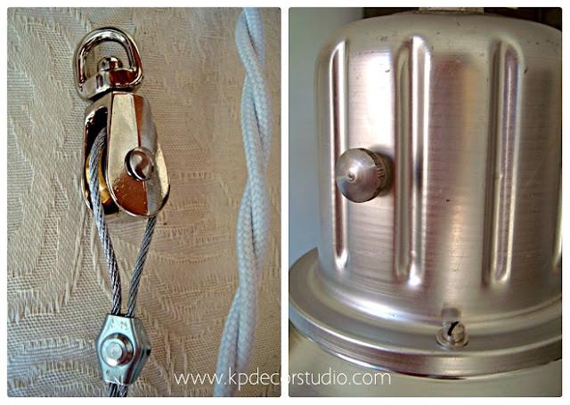 Lámparas artesanales fabricadas con materiales reciclados