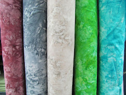 Batikmönstade tyger