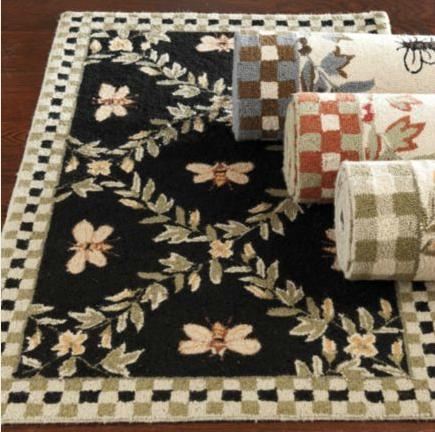 Ballard designs look alikes ballard designs honey bee rug for Ballard designs bathroom rugs