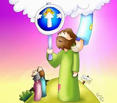 MIRA HACIA ARRIBA Y ESCUCHA A JESÚS
