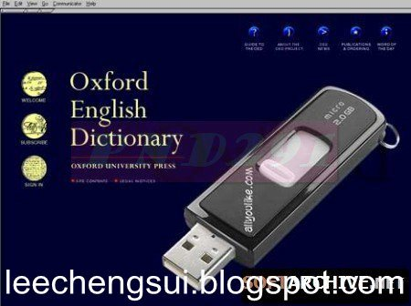 oxford english dictionary with pronunciation portable