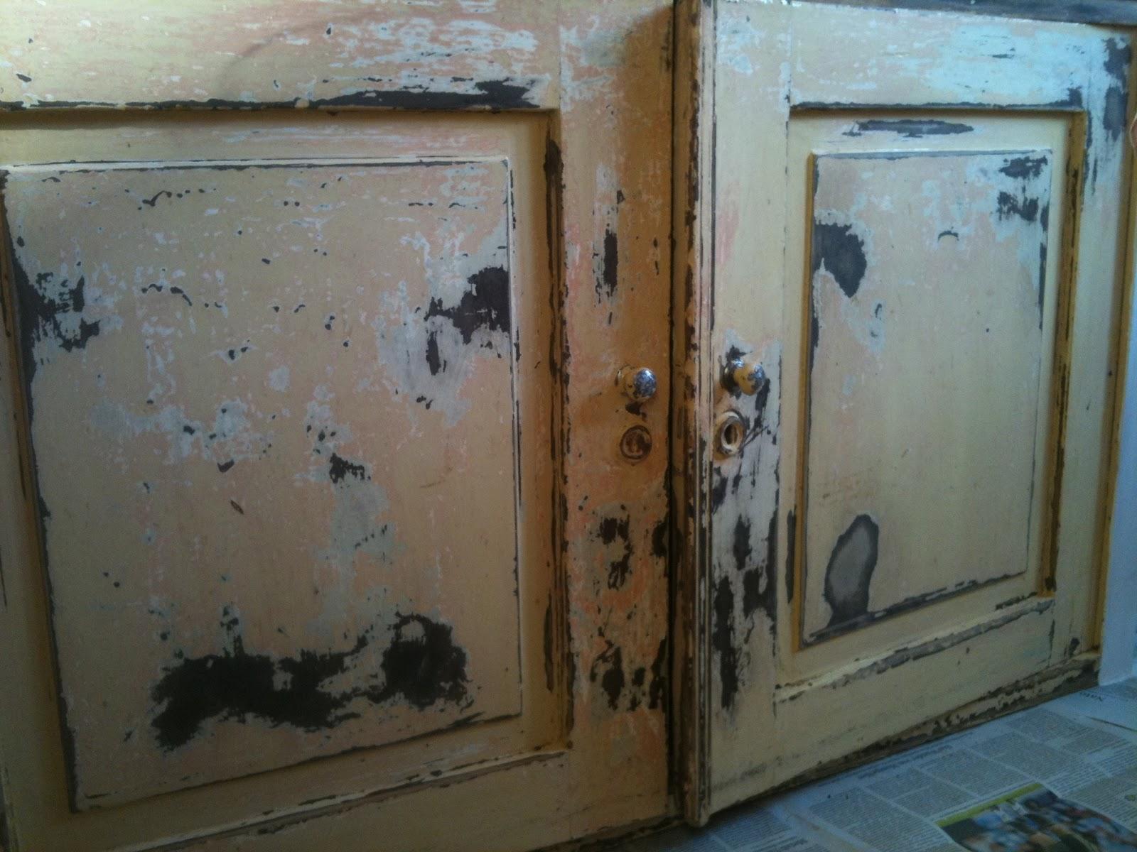shabbytr ume meine k che teil 1. Black Bedroom Furniture Sets. Home Design Ideas