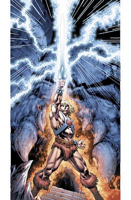 He-Man Masters new comic 2012