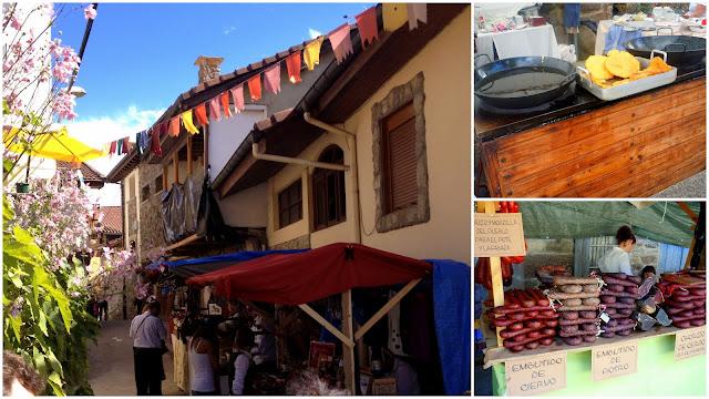 Puestos de mercado tradicional de Cenera