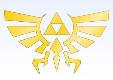 Emblema de la casa real de Hyrule