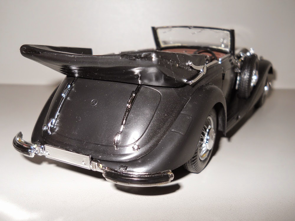 maqueta italeri del mercedes benz 540 cabriolet