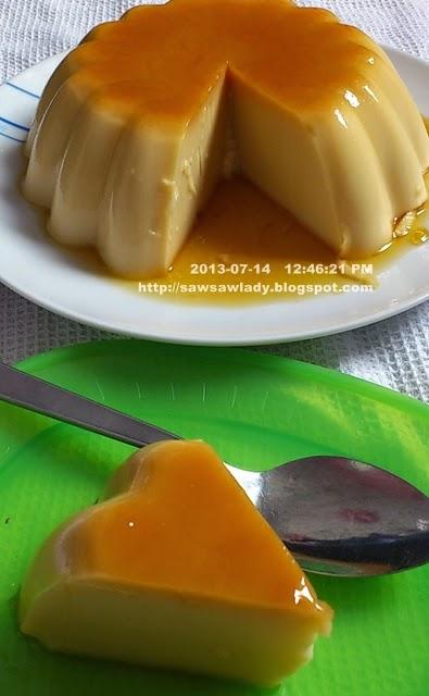 Puding Karamel Tanpa Telur