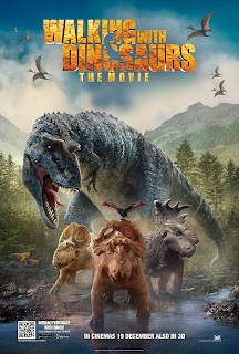 Walking with Dinosaurs official movie poster malaysia release