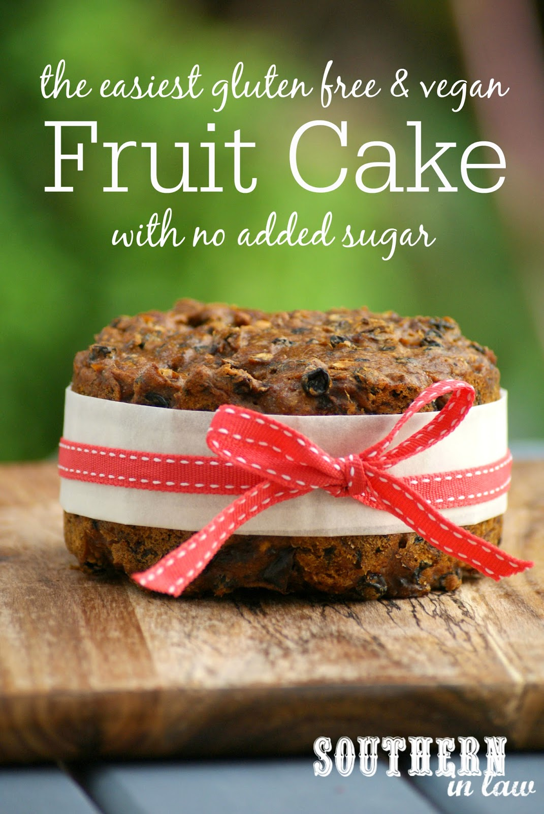 Dairy And Gluten Free Christmas Cake For Sale