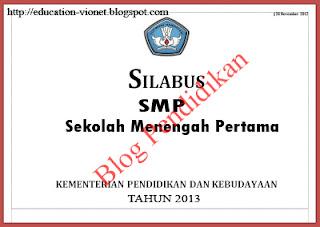 Download Silabus Kurikulum 2013 Untuk SMP