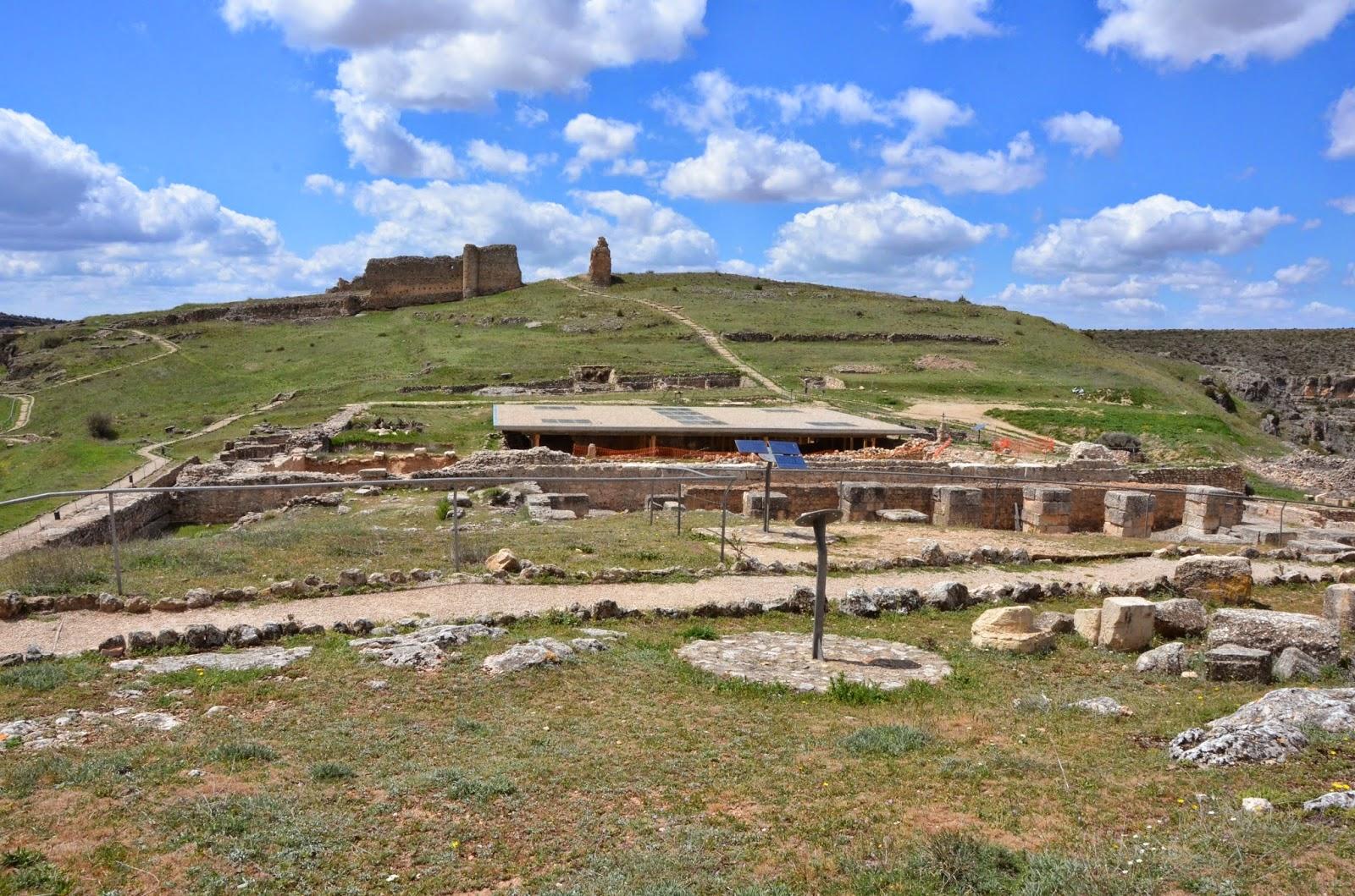 Cuenca cultura y naturaleza: RUINAS DE LA CIUDAD ROMANA VALERIA