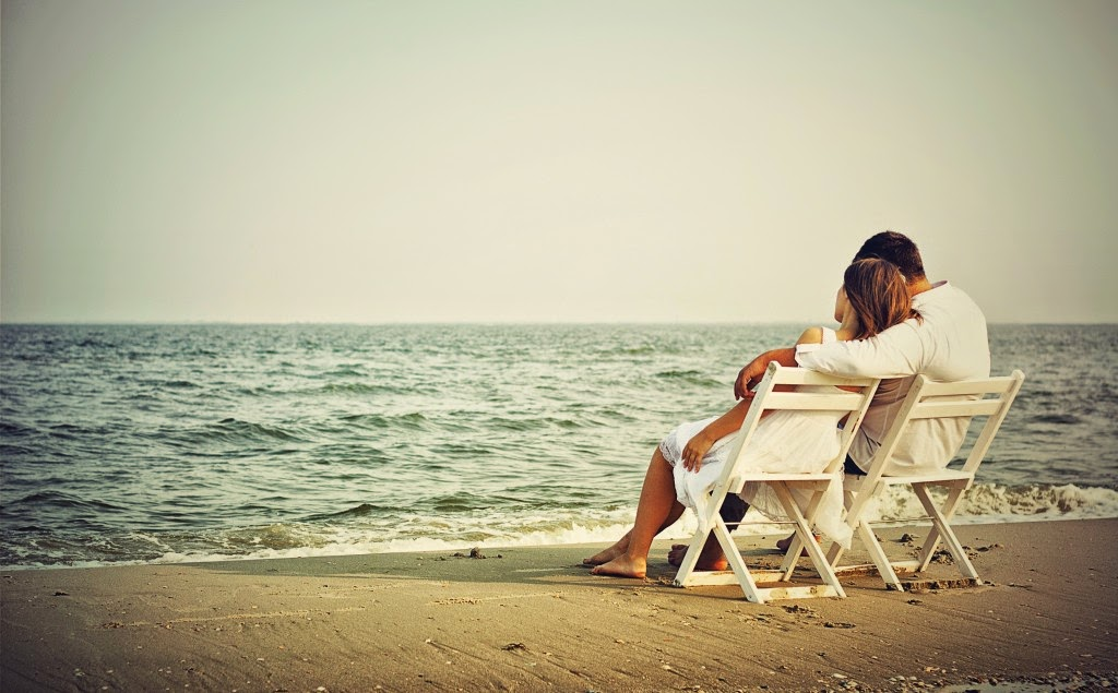coppia spiaggia