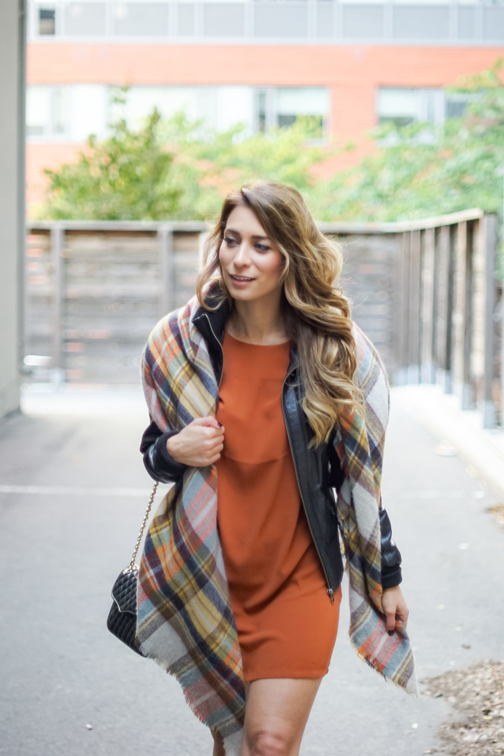 ootd - burnt orange for fall | la petite noob | a toronto-based