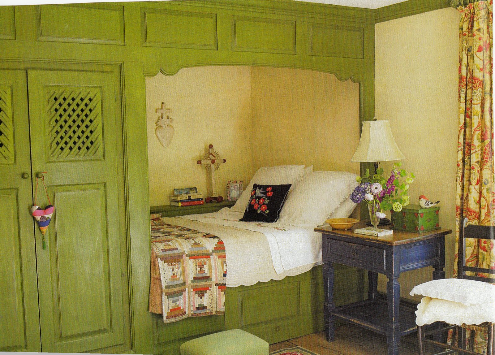 Hydrangea Hill Cottage French Country Decorating: Hydrangea Hill Cottage: Sleeping Quarters