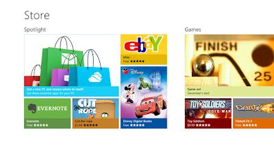 Microsoft Windows 8 App Store