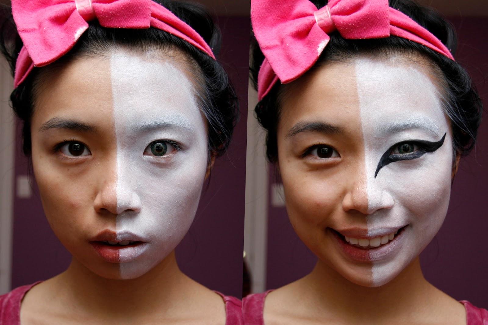 HALLOWEEN: Bleach (Manga) Ichigo Hollow Mask Makeup | fun size ...