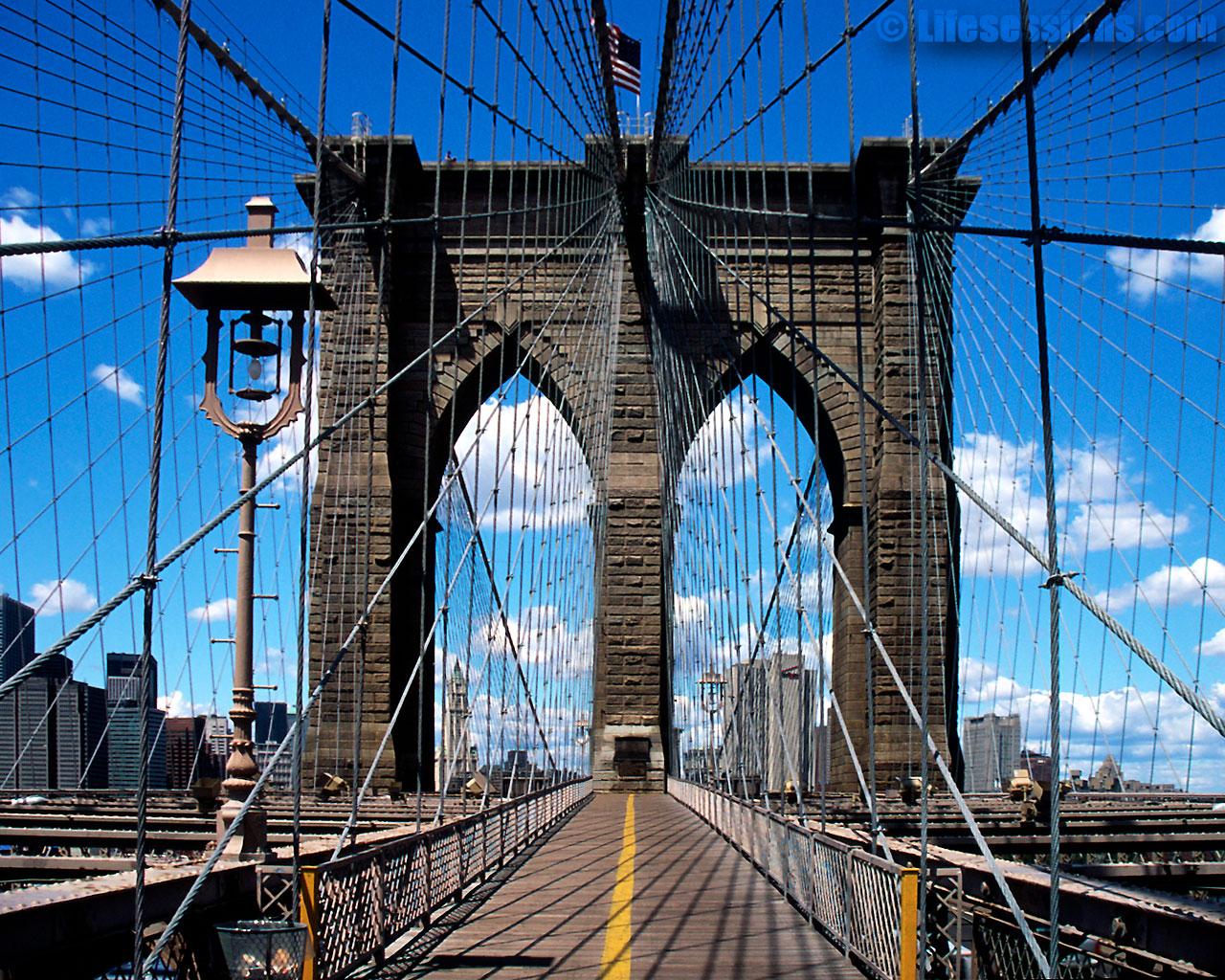 Gena Downs Brooklyn Bridge Wallpapers
