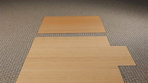Bamboo Office Mat5
