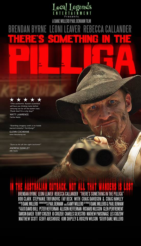 There's something in the Pilliga poster