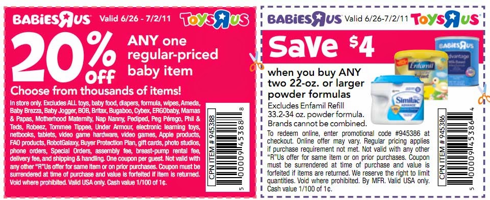 picture regarding Babies R Us Printable Coupons identified as 20 off infants r us coupon 2018 - Johnsonville meat coupon
