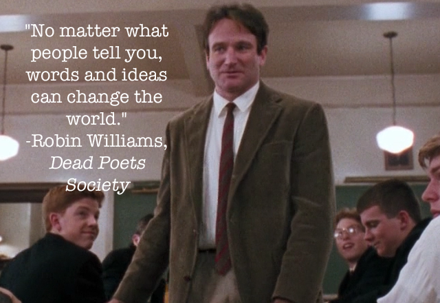 Robin Williams movie quote