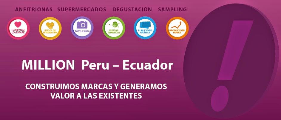 MILLION Perú - Ecuador