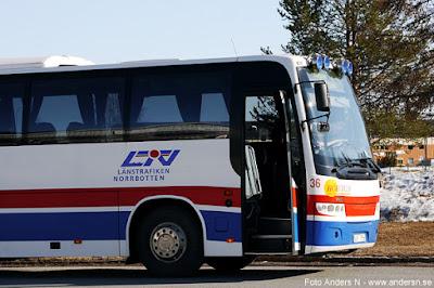 buss Norrbotten länstrafiken