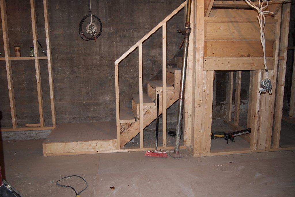 new stairs donny put a lot of work into these