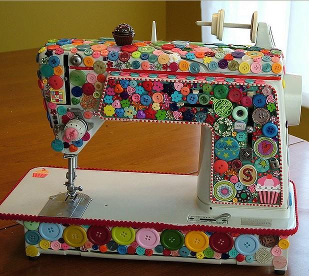 Manualidades :Máquina de coser ~ lodijoella