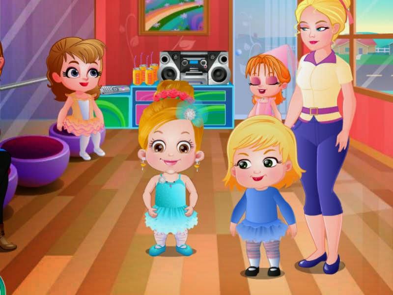 free kids games baby hazel ballerina dance baby bathing game educational baby game. Black Bedroom Furniture Sets. Home Design Ideas