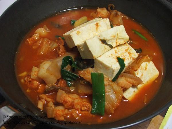 Kimchi Jigae (Kimchi Soup) Recipe — Dishmaps