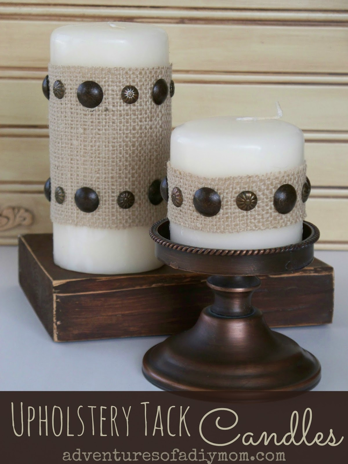Upholstery Tack Candles