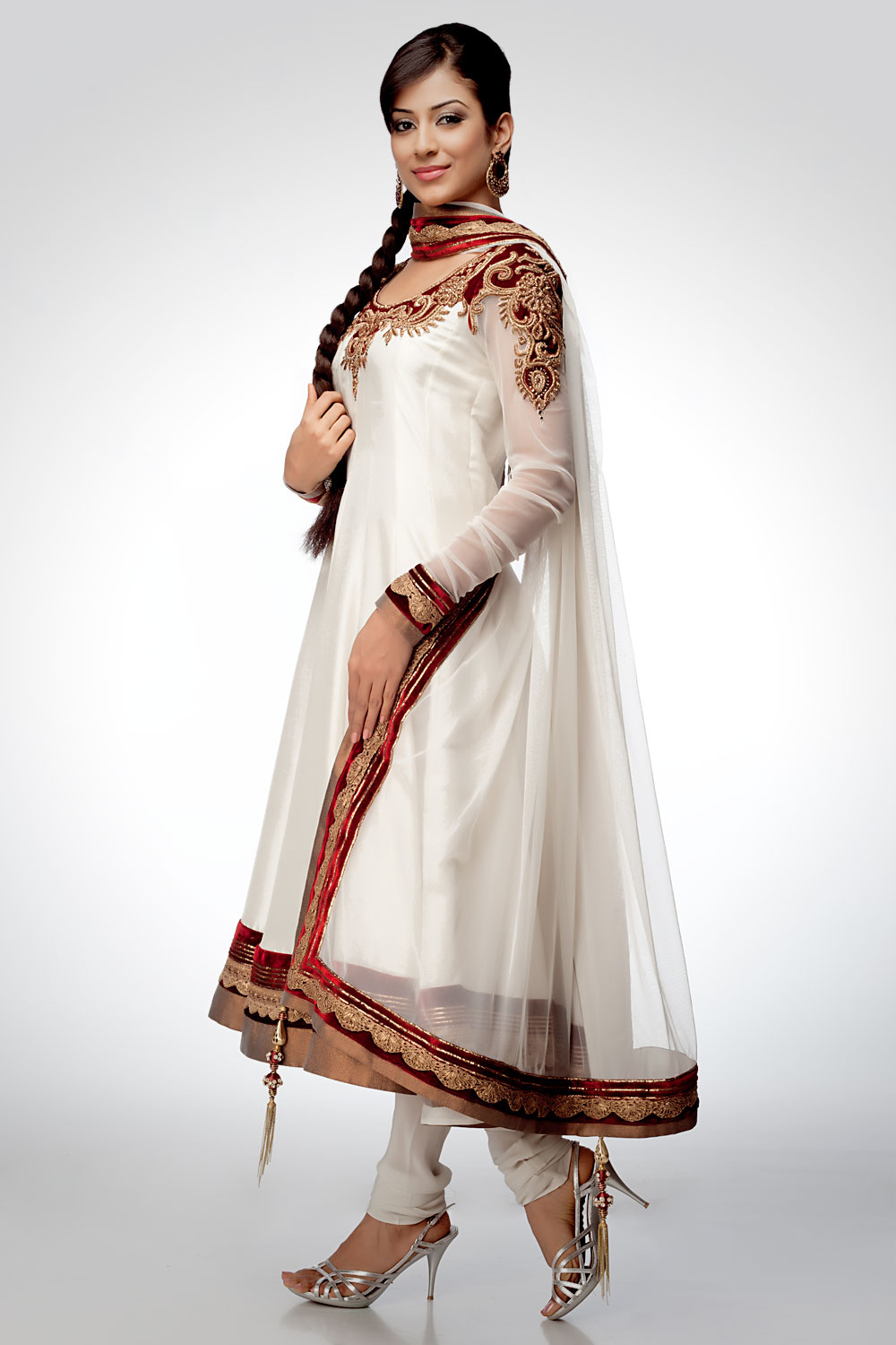 2013 Latest Anarkali Frocks Fashion Point