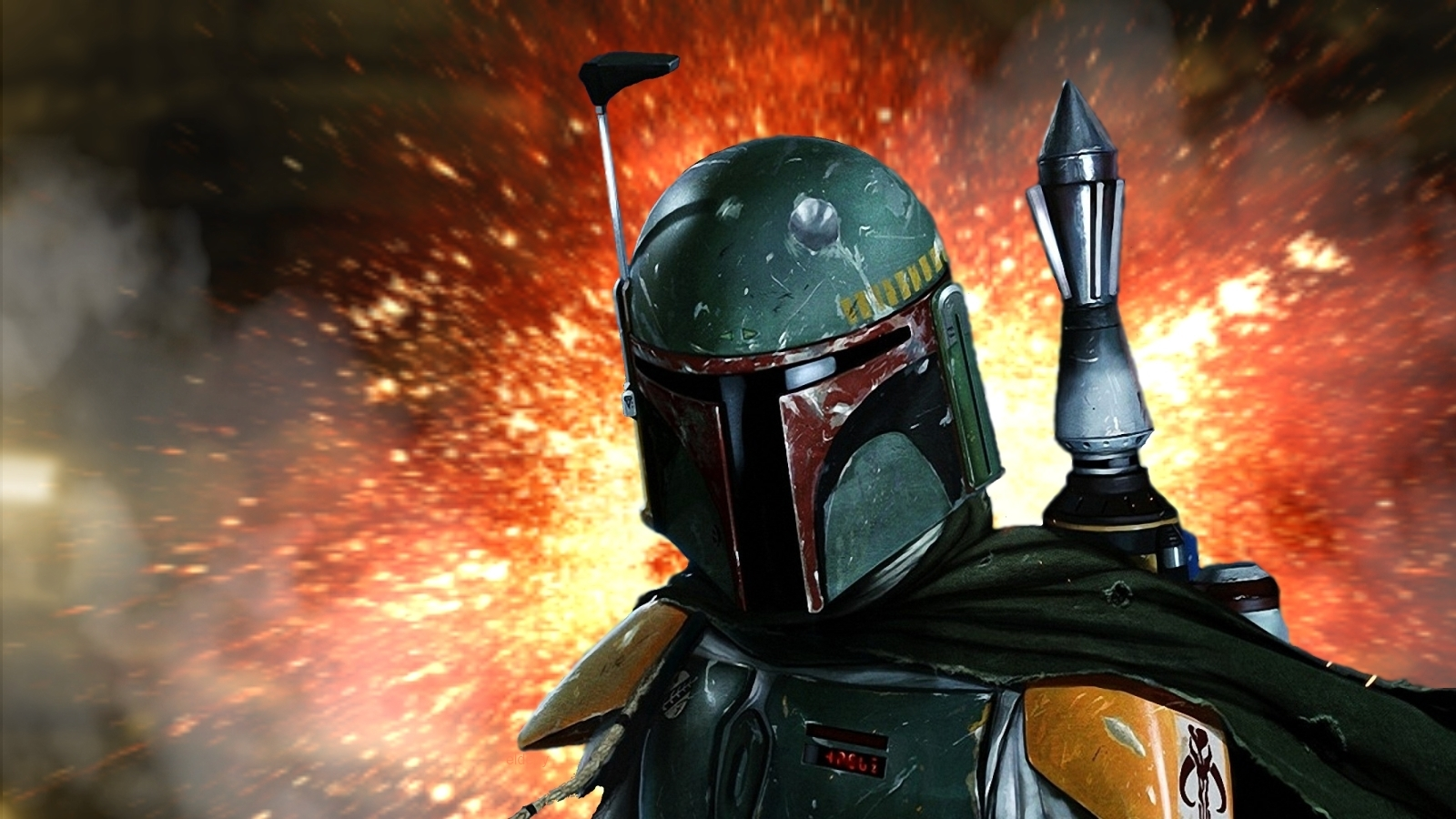 beauty re rendered boba fett wallpaper. Black Bedroom Furniture Sets. Home Design Ideas