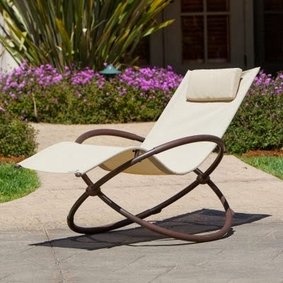 RST Outdoor Orbital Outdoor Lounger