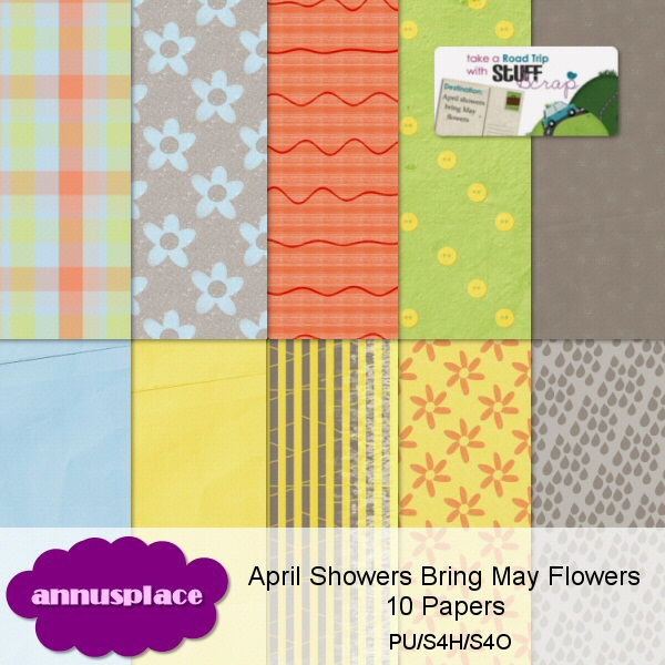 preview of April Showers Bring May Flowers