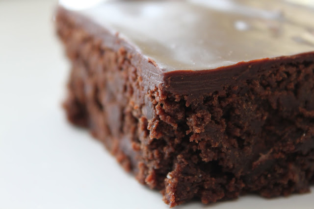 ... Kitchen: Barefoot Contessa Outrageous Brownies with Ganache Frosting