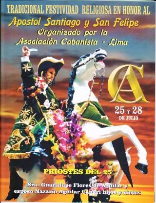 fiesta Apostol Santiago y San Felipe