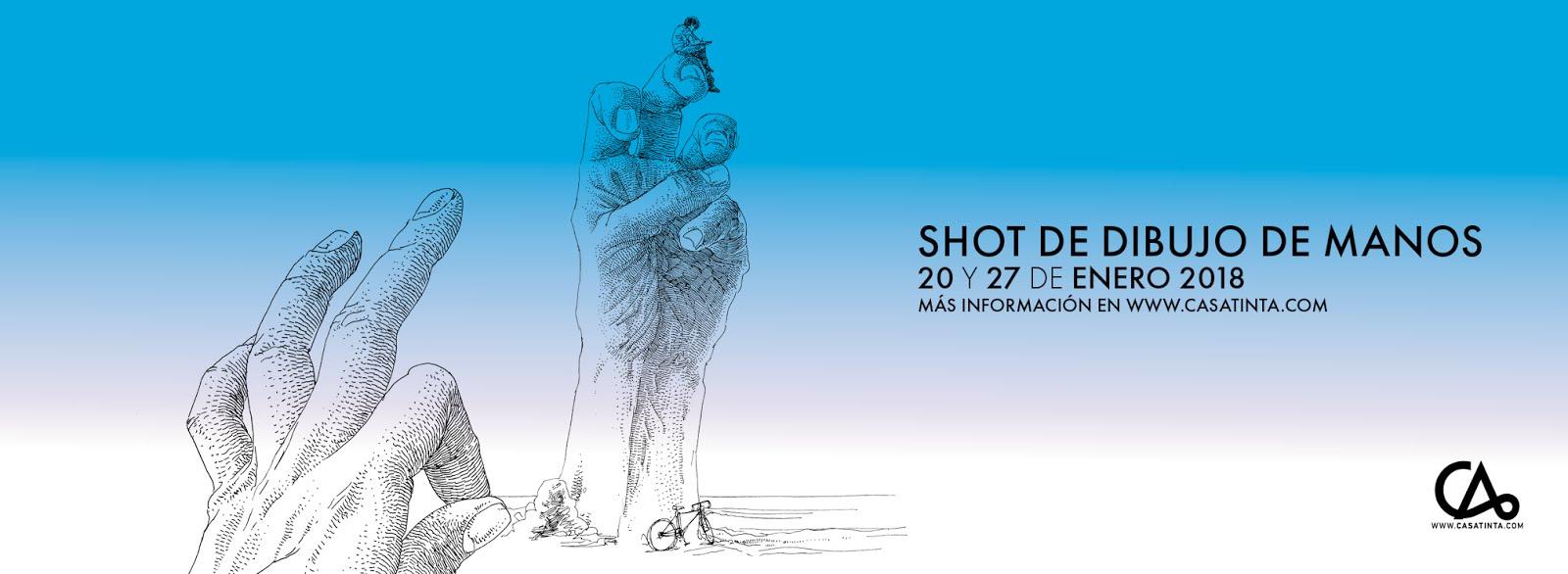 SHOT DIBUJO DE MANOS // 20 de enero