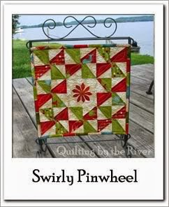 Swirly Pinwheel Free Tutorial at Freemotion by the River