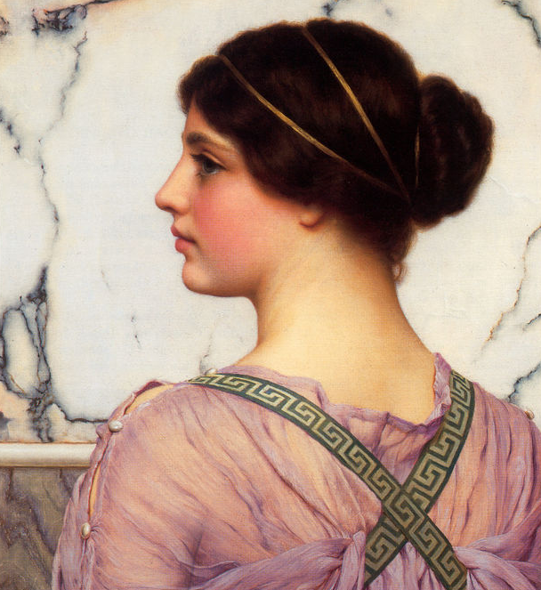 godward greek beauty