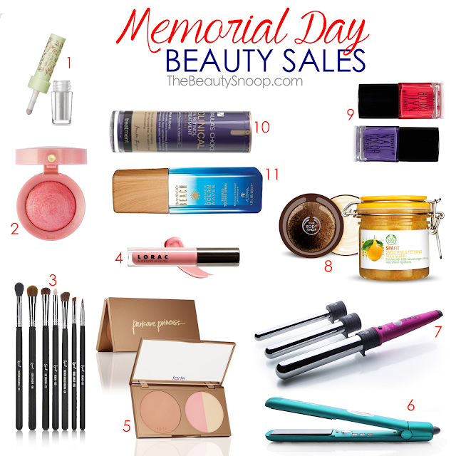 MEMORIAL DAY BEAUTY SALES