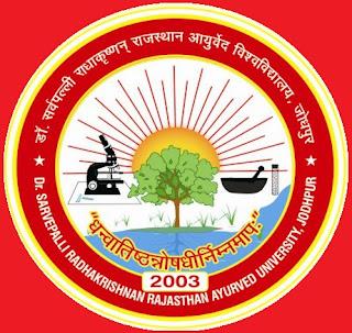 Dr Sarvepali Radhakrishnan Rajasthan Ayurved University