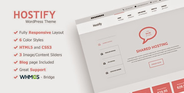 download themeforest hostify